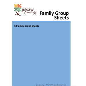 PC-07 Family Group Sheets